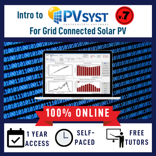 PVsyst online course