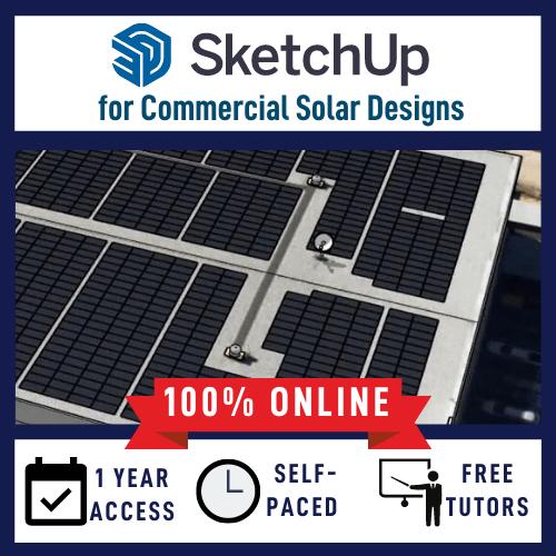 Sketchup for Solar course