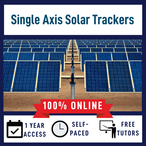 Single Axis Solar Trackers Online Course